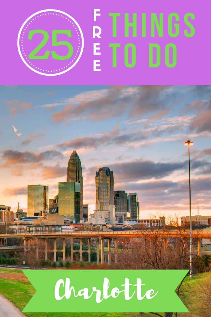 Heading to the Queen City sometime soon? Check out our list of the top 25 free things to do in Charlotte, from spraygrounds to museums!