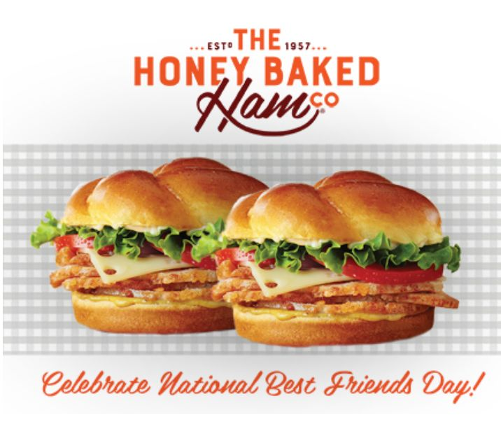 photo regarding Honey Baked Ham Printable Coupons named BOGO Honey Baked Ham Clic Sandwiches :: Southern Savers