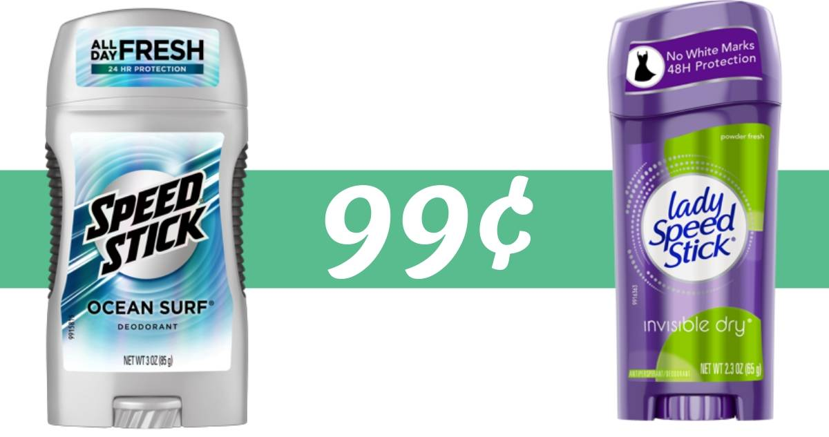 graphic relating to Speed Stick Printable Coupon identify Pace Adhere Deodorant for 99¢ at CVS - Commences Tomorrow