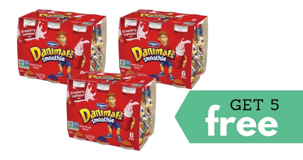 Danimals Smoothies Gogurt Yogurt More Only 99 At: Get 5 Free Dannon Danimals At Kroger Thru Saturday