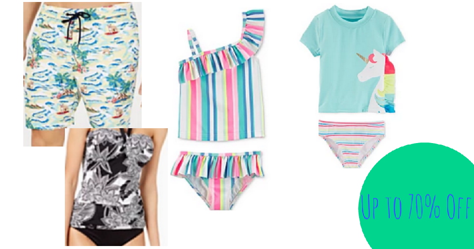 1cd8427b031 Grab swimwear for the whole family with the Macys Swim Flash Sale. You can  find 50%-70% off select regular priced swimsuits for men, women and kids  with ...