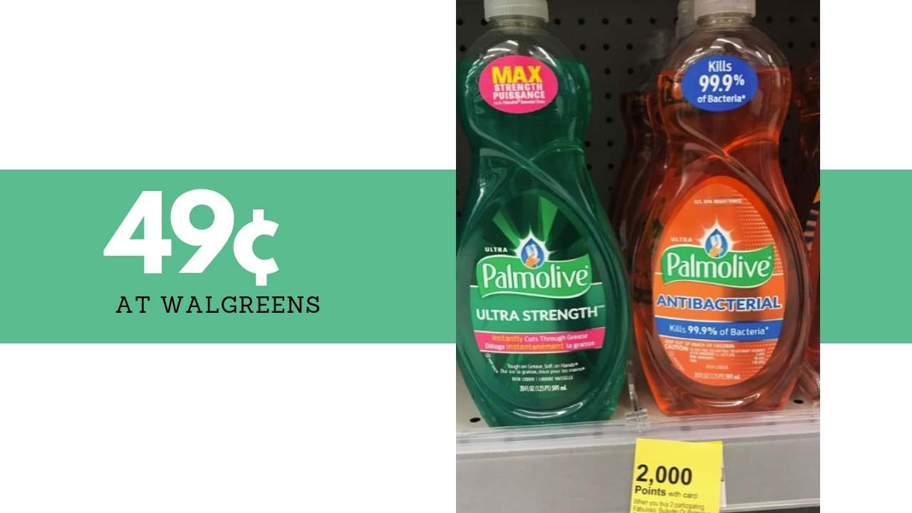 photograph about Palmolive Printable Coupon identified as 49¢ Palmolive Dish Cleaning soap at Walgreens! :: Southern Savers