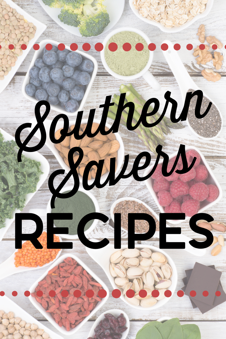 Looking for simple, frugal recipes? Look no further! This is a complete listing of all the Southern Savers recipes I've shared over the years.