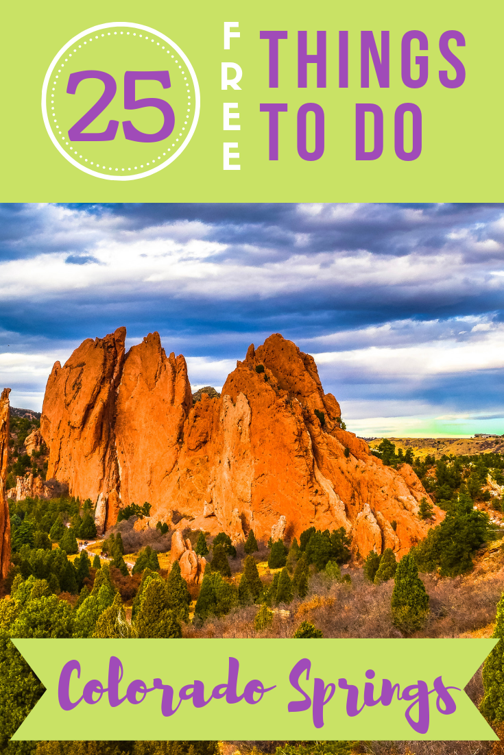 If you're headed out west, consider this Rocky Mountain city. There are so many free things to do in Colorado Springs, many with extraordinary views!