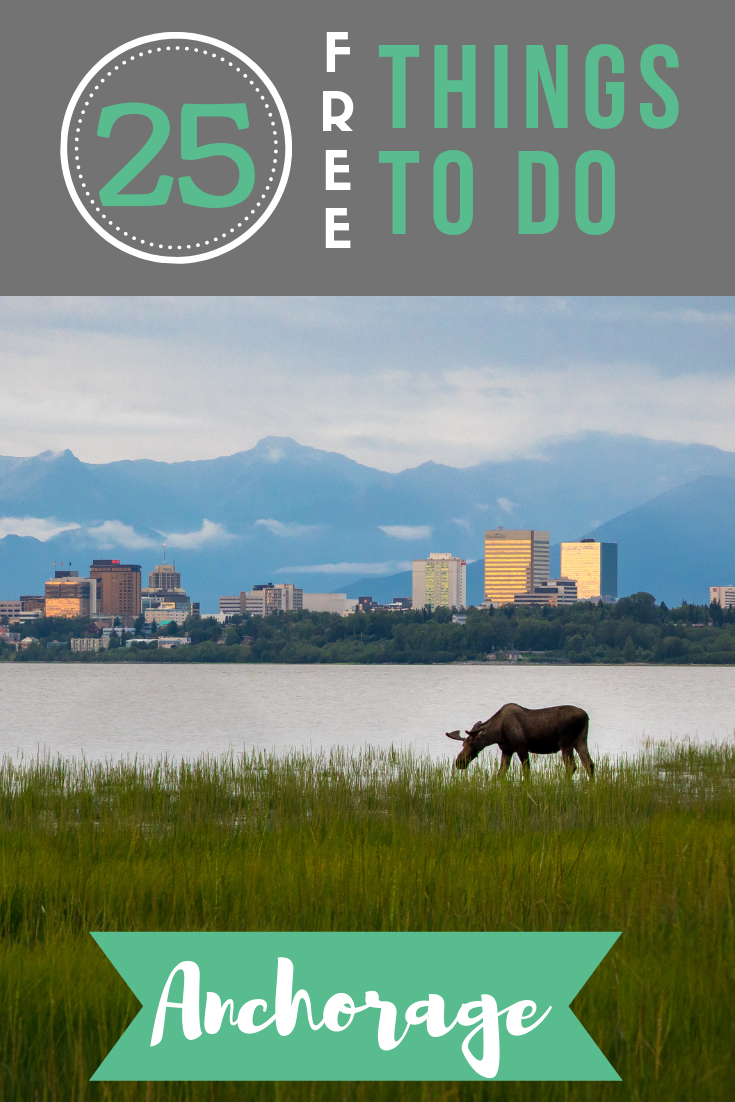 Heading to the Last Frontier for vacation? This list of free things to do in Anchorage will keep you busy both indoors and outdoors while you're there!