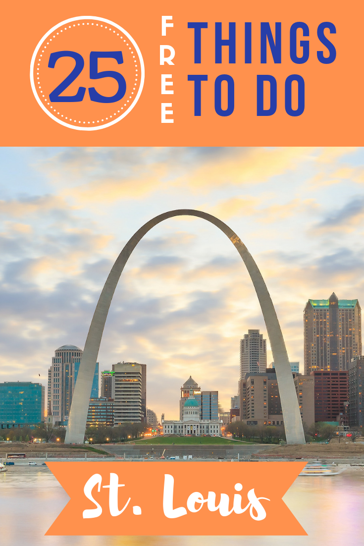 Meet me in St. Louis! If you do, you'll discover the plethora of free things to do in St. Louis, including a renowned zoo and amazing science center!