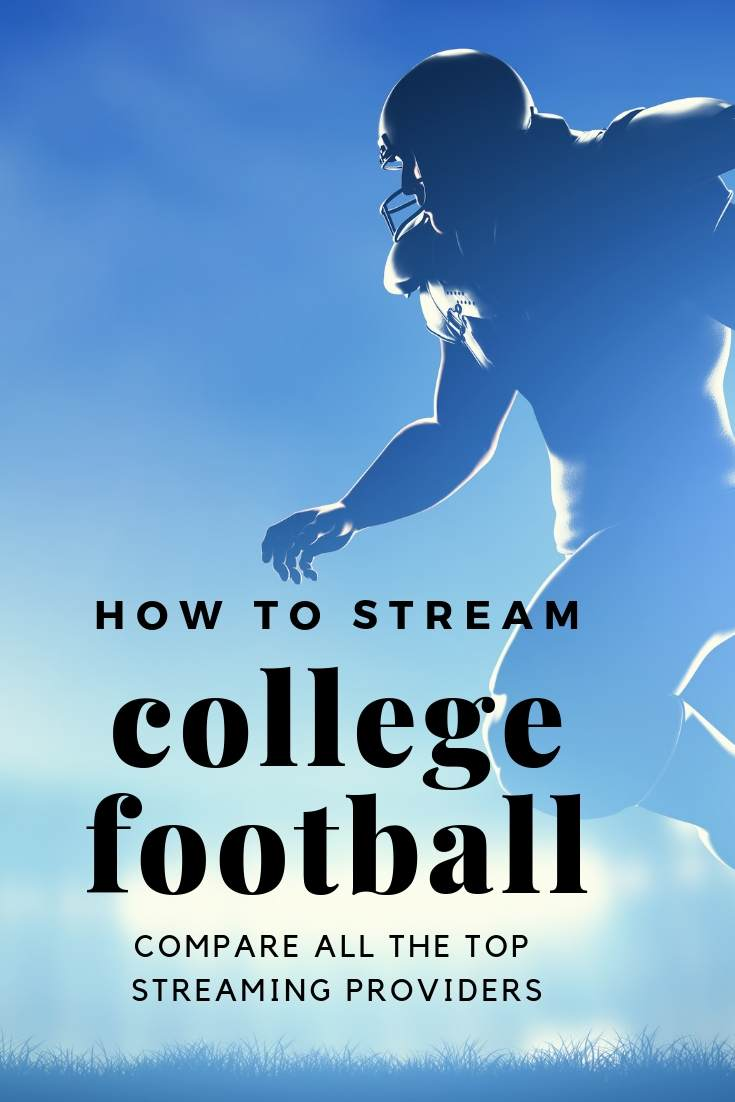You really can cut cable and watch sports!  Football season is 6 weeks away, here is how to stream college football this year and not miss any games!