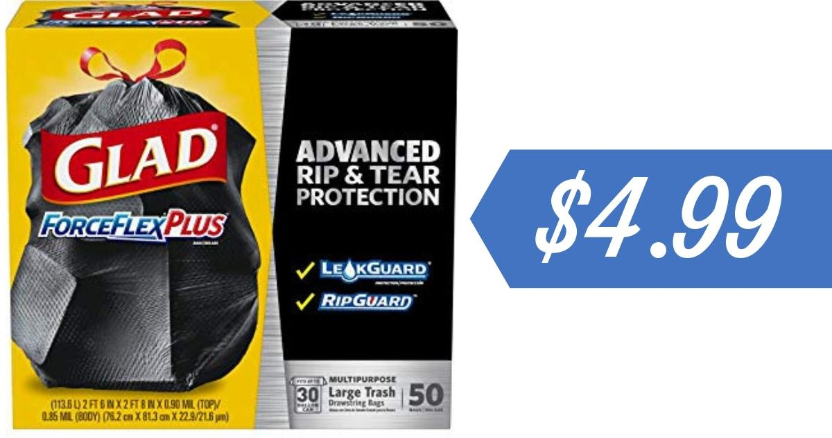 photograph about Glad Trash Bags Printable Coupon named Contented Trash Luggage Coupon Tends to make it $4.99 :: Southern Savers