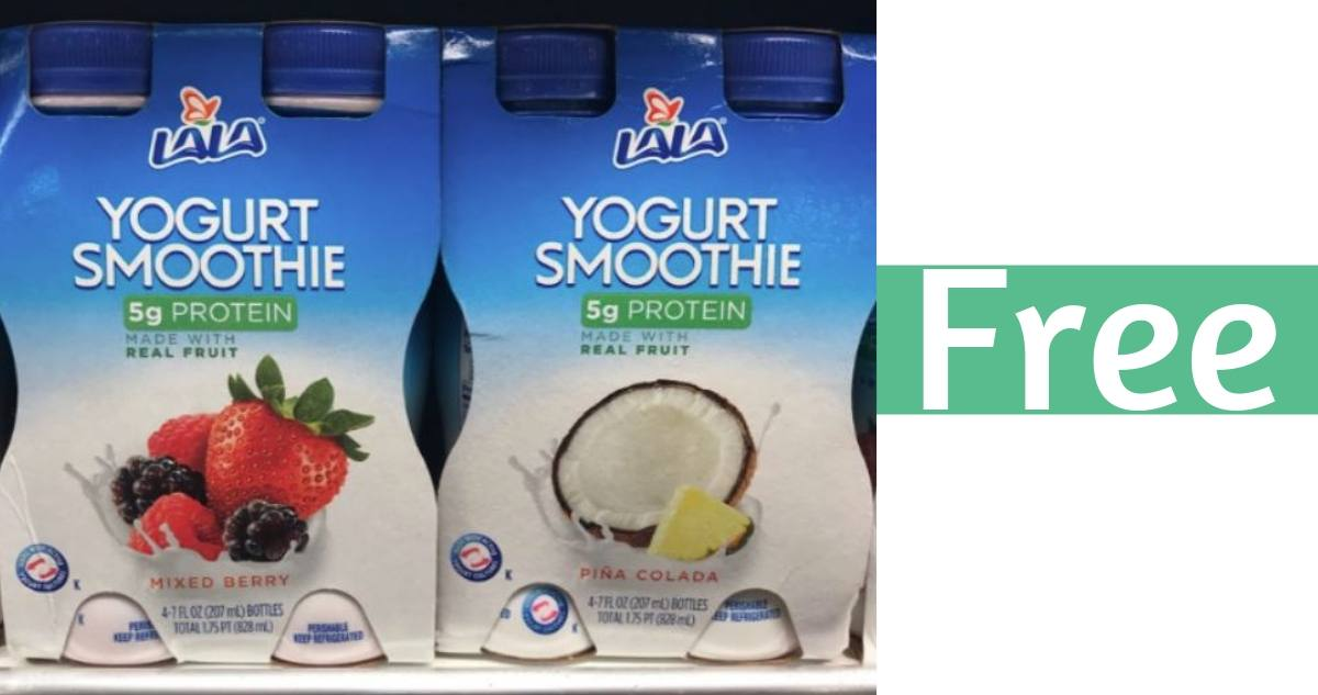 picture regarding Kroger Printable Application called LaLa Yogurt Smoothies for Free of charge at Kroger :: Southern Savers