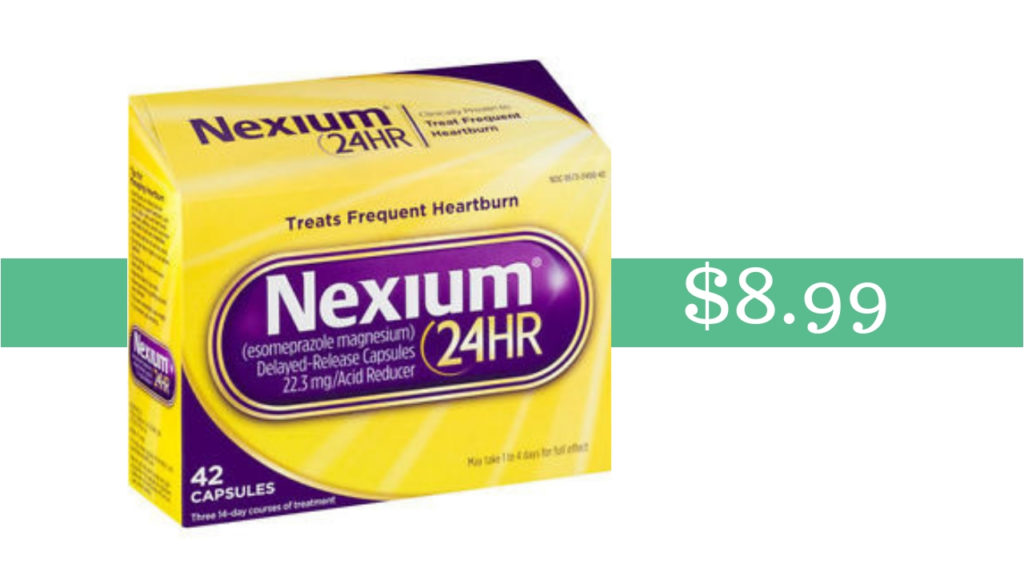 image regarding Nexium Coupons Printable referred to as Nexium Acid Reducer 42 ct. Acquire it for $8.99 at Publix
