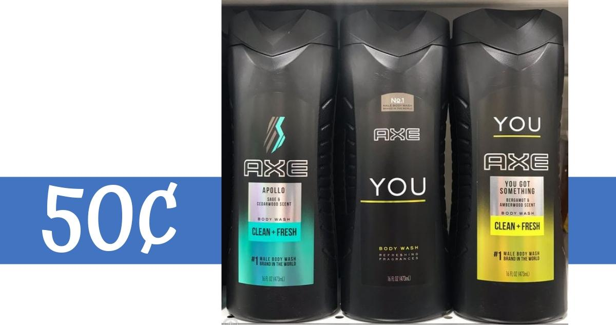 image relating to Axe Coupons Printable called Axe Discount coupons Results in System Clean or Shampoo 50¢ :: Southern Savers