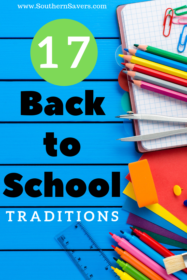 Make going back to school extra special and ease nervous jitters with this list of 17 fun back to school traditions, most of which are simple and low-key.
