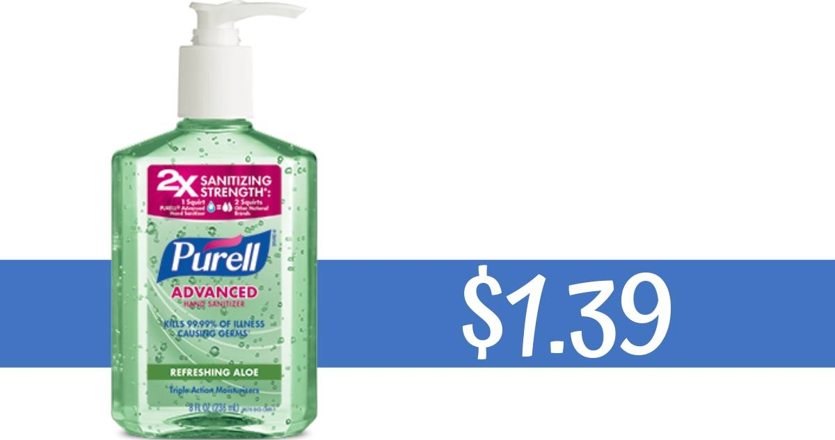 graphic about Purell Printable Coupons named Purell Discount codes Produces Hand Sanitizer $1.39 :: Southern Savers