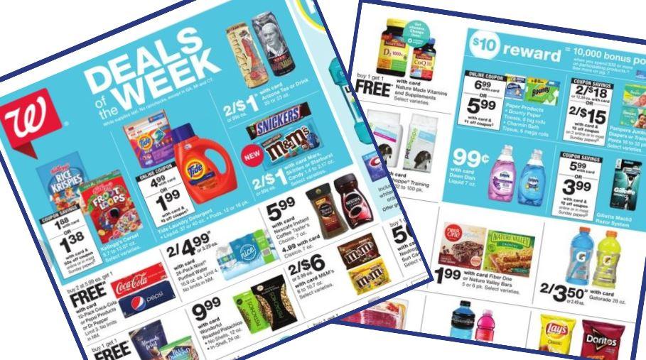 Walgreens Ad Coupons 7 7 7 13 Southern Savers