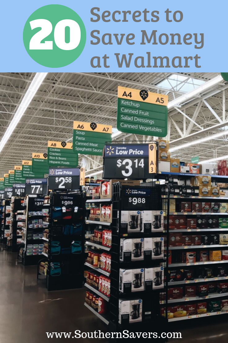 If Walmart is your preferred store, make sure you've got the inside scoop with these amazing secrets to save money at Walmart.