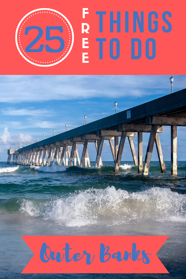 If you're headed to the western coast of North Carolina any time soon, check out this list of the top 25 free things to do in the Outer Banks NC!