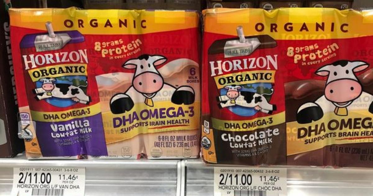 Horizon milk coupons 2019
