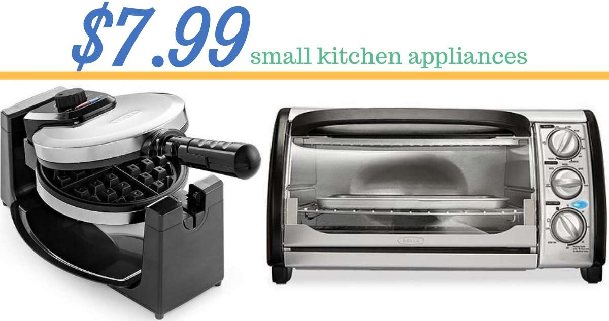 Macy\'s Small Kitchen Appliances for $7.99 After Rebate ...