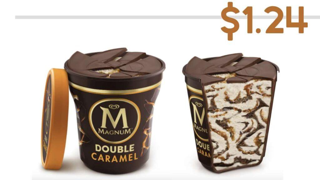 magnum ice cream tubs