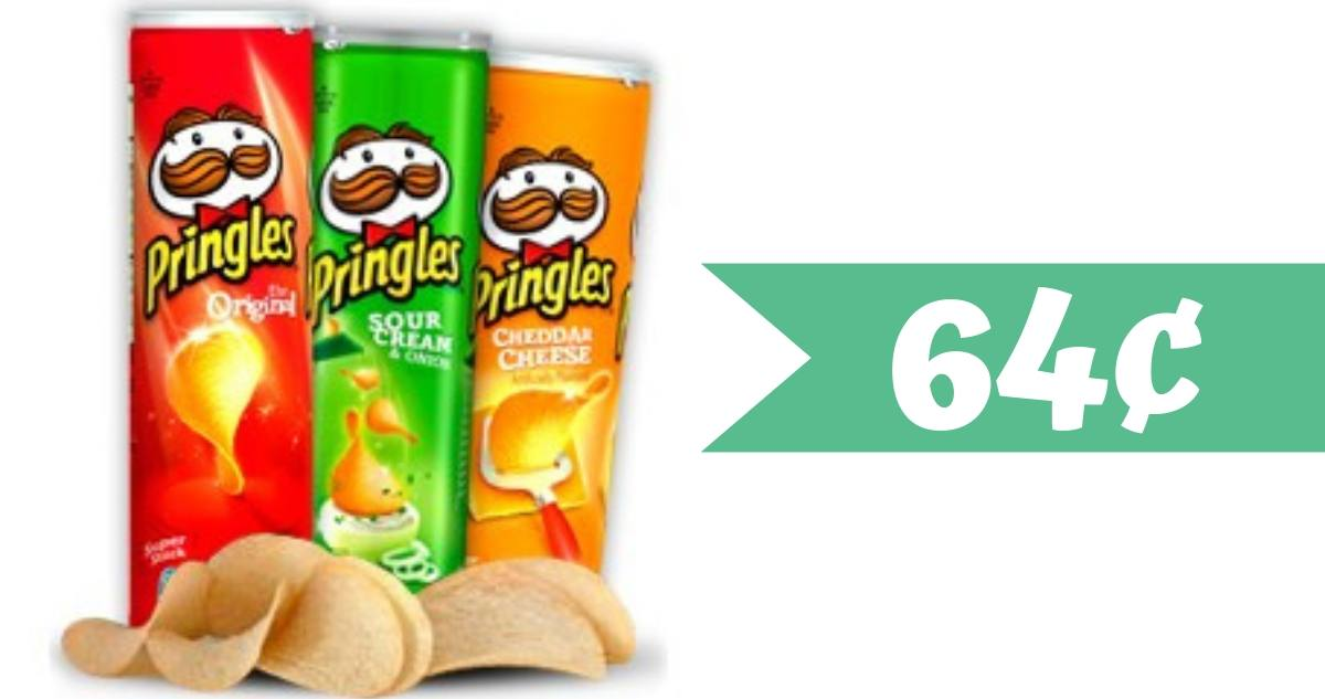graphic regarding Pringles Printable Coupons referred to as Pringles Coupon Helps make it 64¢ For each Can :: Southern Savers