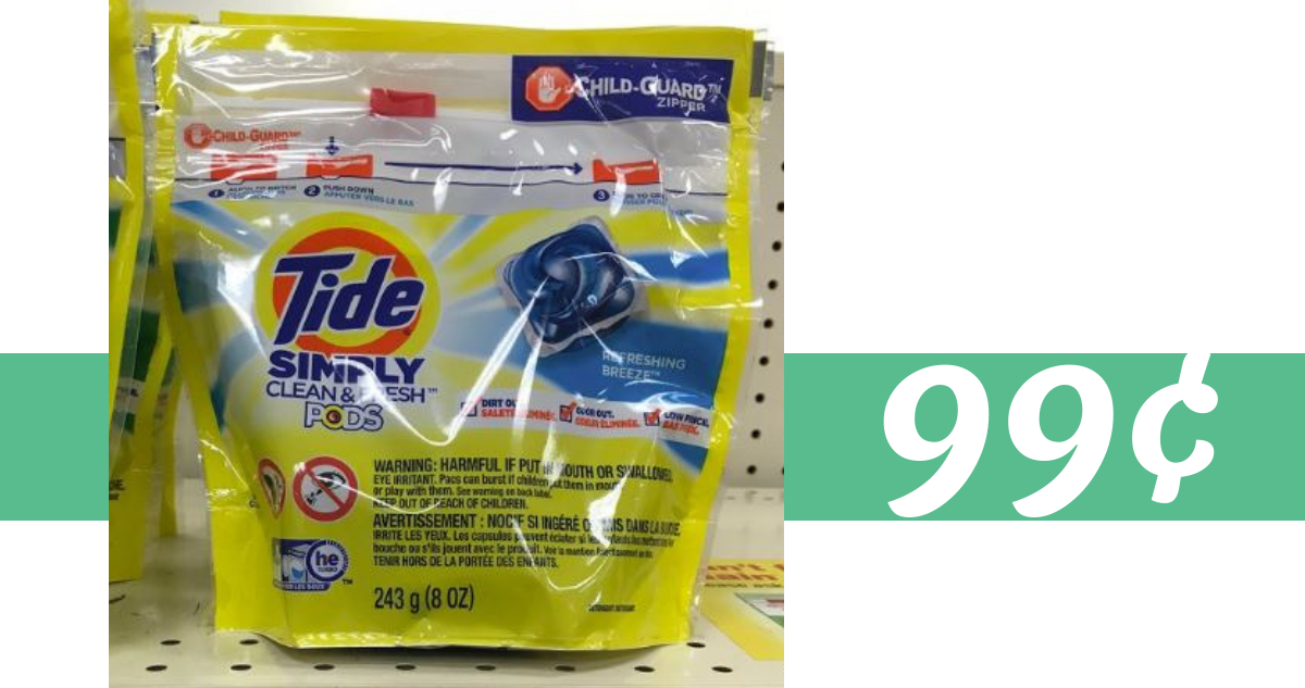photograph about Tide Simply Clean Printable Coupons referred to as Tide Just Detergent for 99¢ at Kroger :: Southern Savers