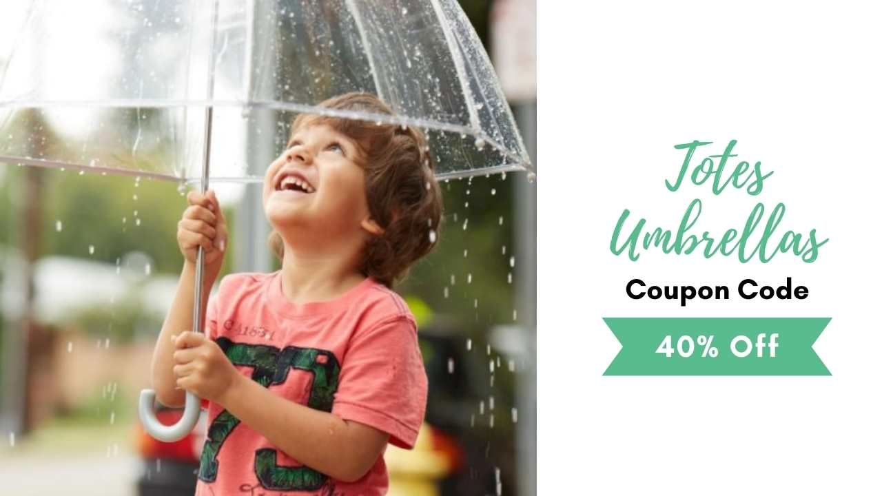 totes umbrellas coupon code