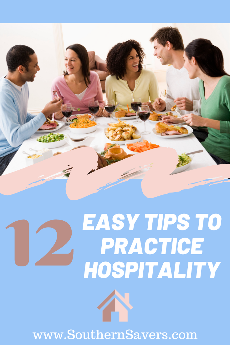 Having people over doesn't have to be complicated. Here are 12 easy tips to practice hospitality so you can truly enjoy having people in your home!