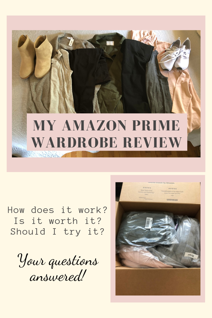 If you're an Amazon Prime member, you can try on clothes for free at home! Read my Amazon Prime Wardrobe review to see if this service is right for you.
