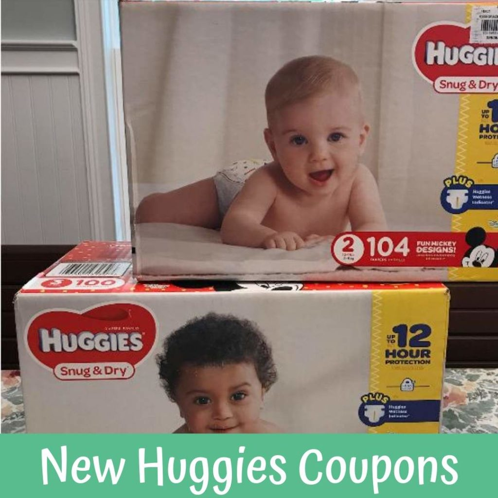 picture regarding Printable Huggie Coupons called Fresh Huggies Printable Discount coupons + Aim Diaper Package Concept