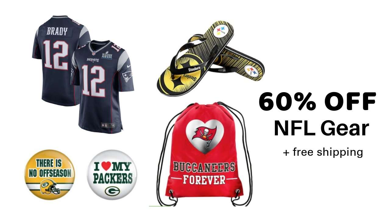 newest ee8d2 217b9 Up to 60% off NFL Gear + Free Shipping!! :: Southern Savers