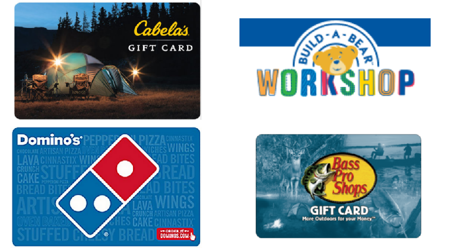 Gift Card Deals Cabela S Spotify Domino S Southern Savers