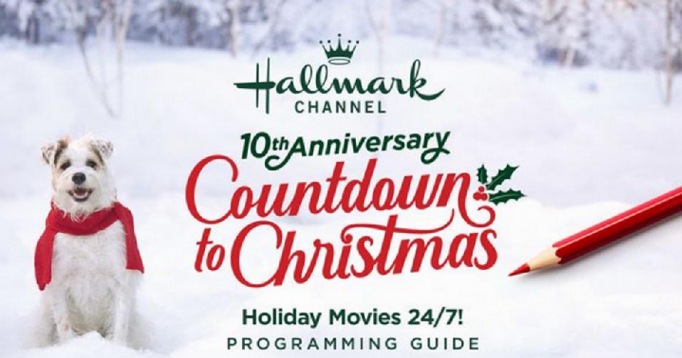 Christmas Countdown 2019.2019 Hallmark Countdown To Christmas Schedule Southern Savers