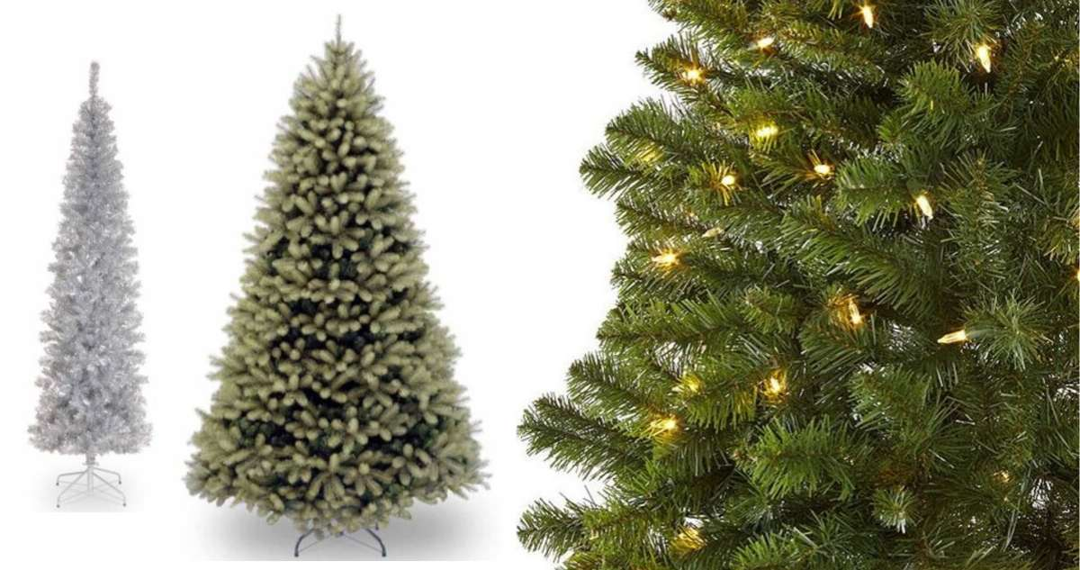 JCPenney Coupon Code: 7.5' Pre-Lit Christmas Tree For $67
