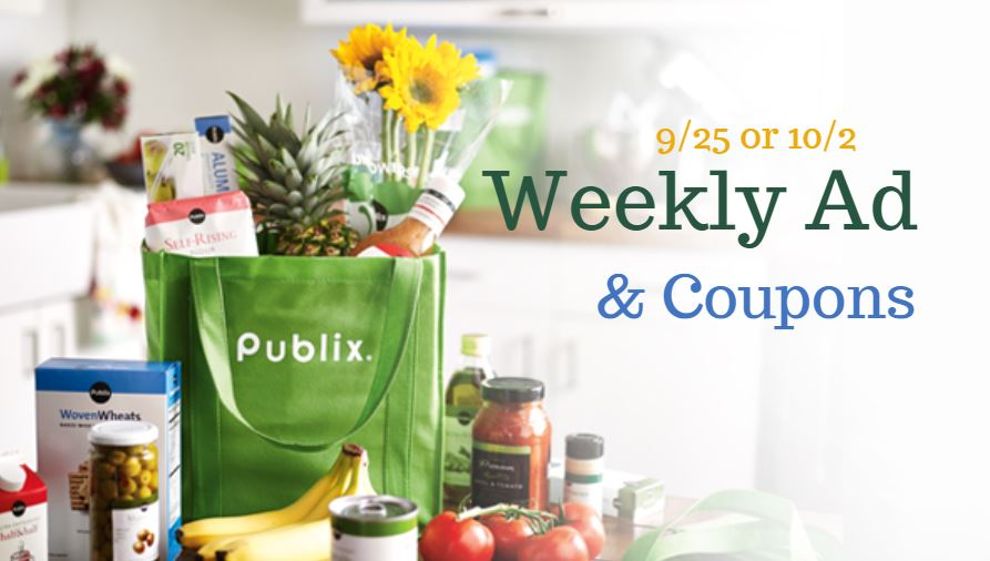 Publix Ad & Coupons: 9/25-10/1 or 9/26-10/2