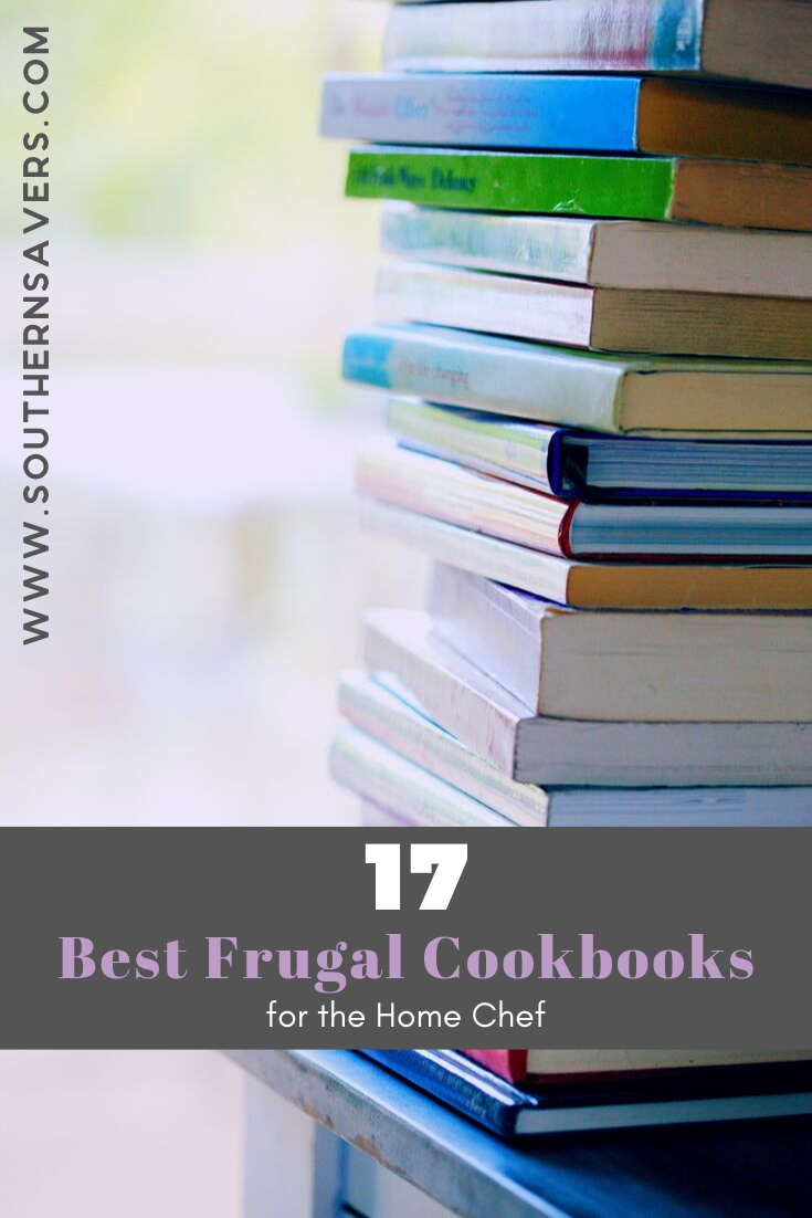 In order to save money, cooking at home often is a necessity. But if you need some new inspiration, check out these 17 best frugal cookbooks!