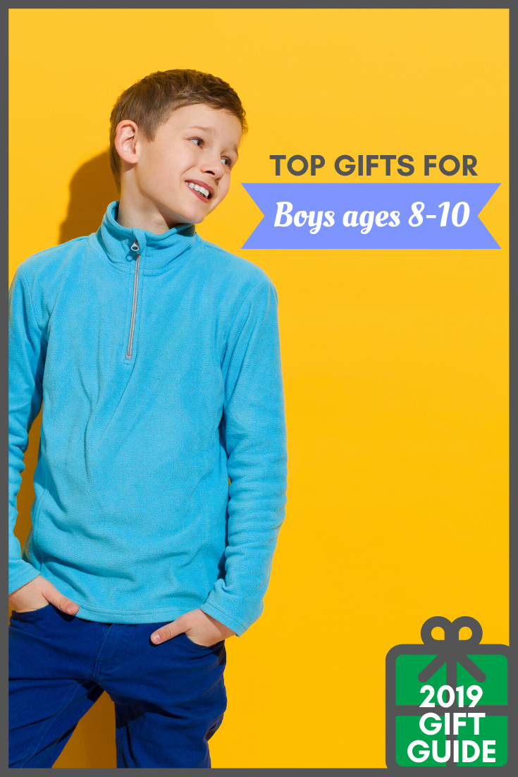 Not little kids, but not yet teenagers, shopping for 8-10 year old boys can be tough, so I've got a list of the top gifts for boys ages 8-10 just for you!