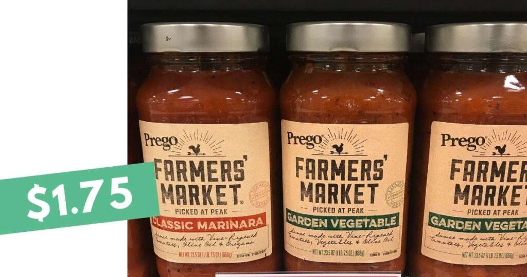 prego farmers market pasta sauce