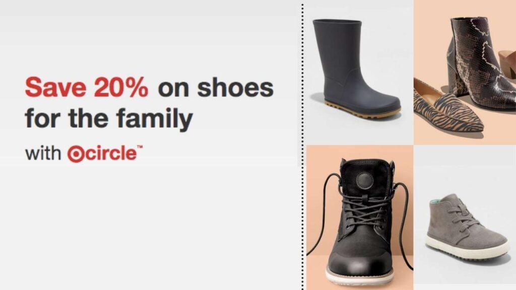 target circle shoes