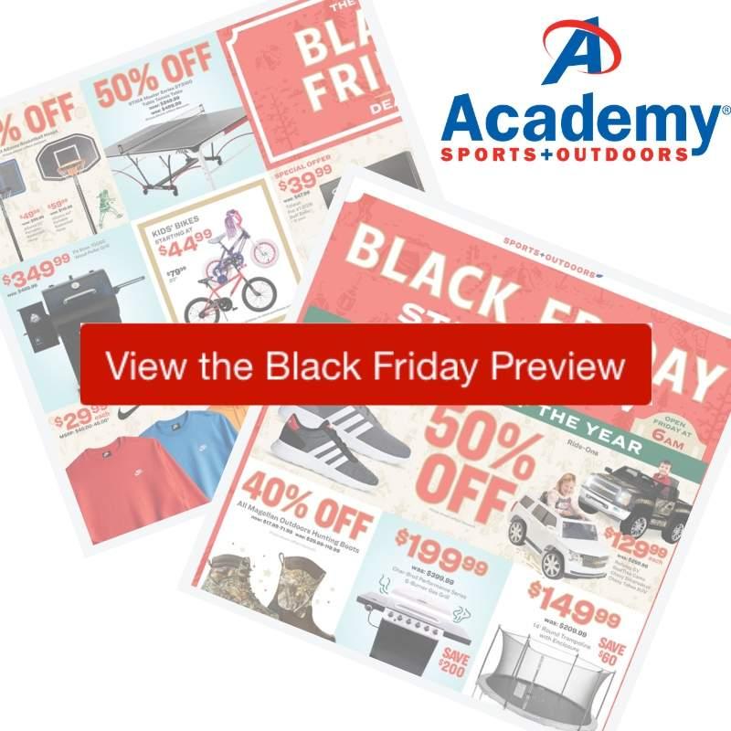 2019 Academy Sports Black Friday Ad