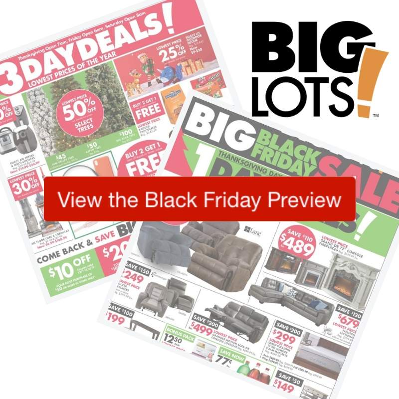 2019 Big Lots Black Friday Ad Southern Savers