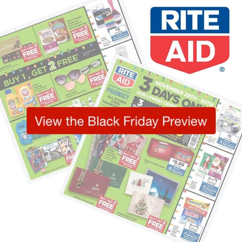 2019 Rite Aid Black Friday Ad