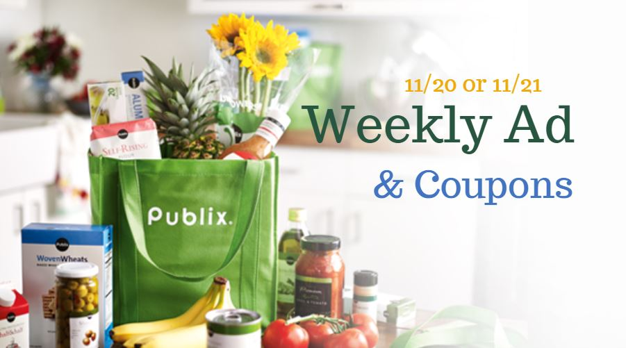 Publix Ad 11 20 11 26 Or 11 21 11 27 Southern Savers