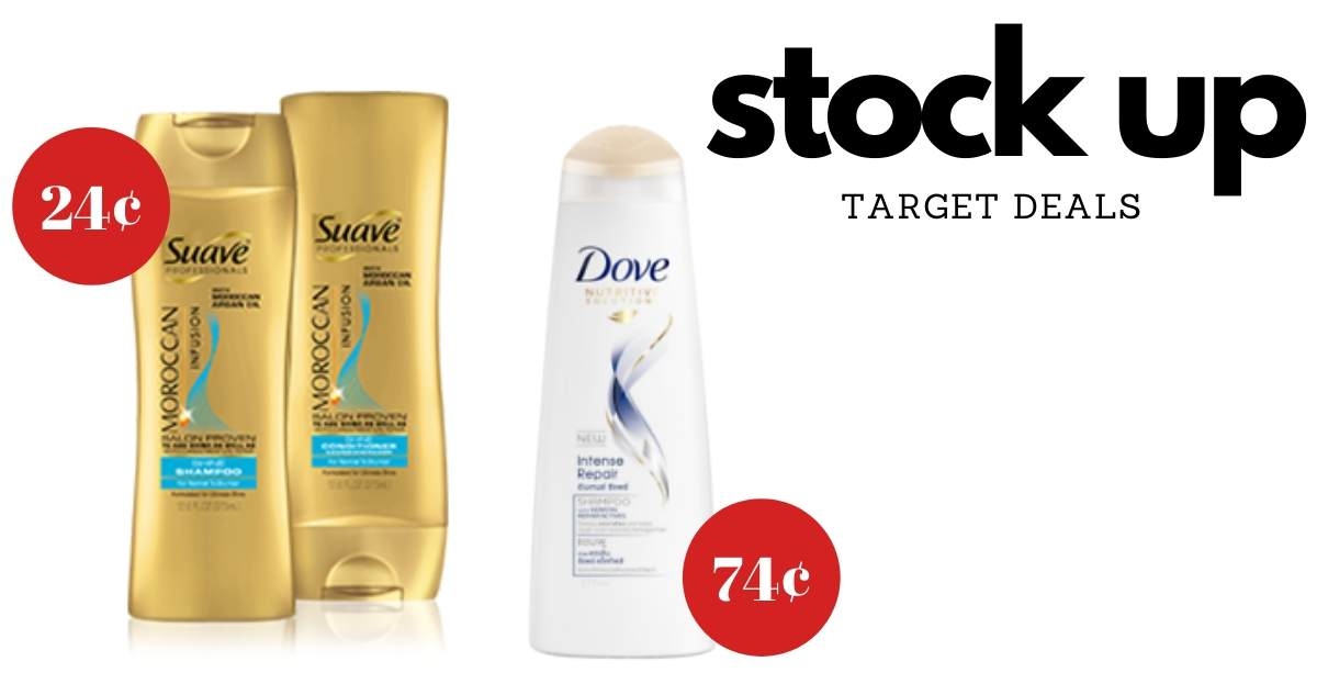 New Dove Suave Coupons 24 At Target Southern Savers