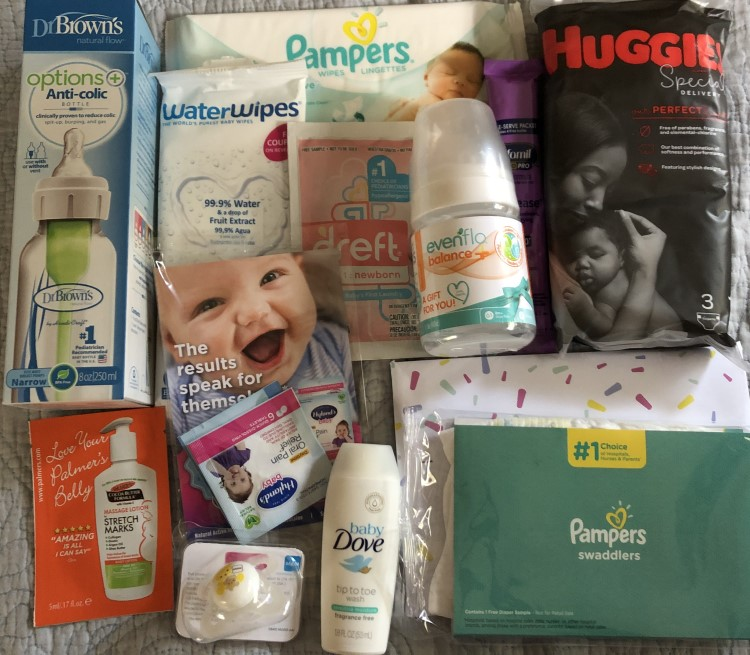 Everything In The Walmart Baby Registry Welcome Box