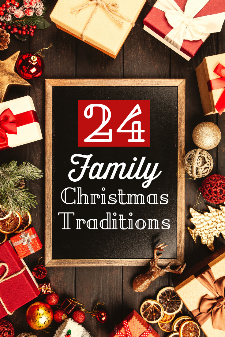 Create lasting memories for your kids with this list of 24 simple family Christmas traditions that can mark the season and help your family connect.