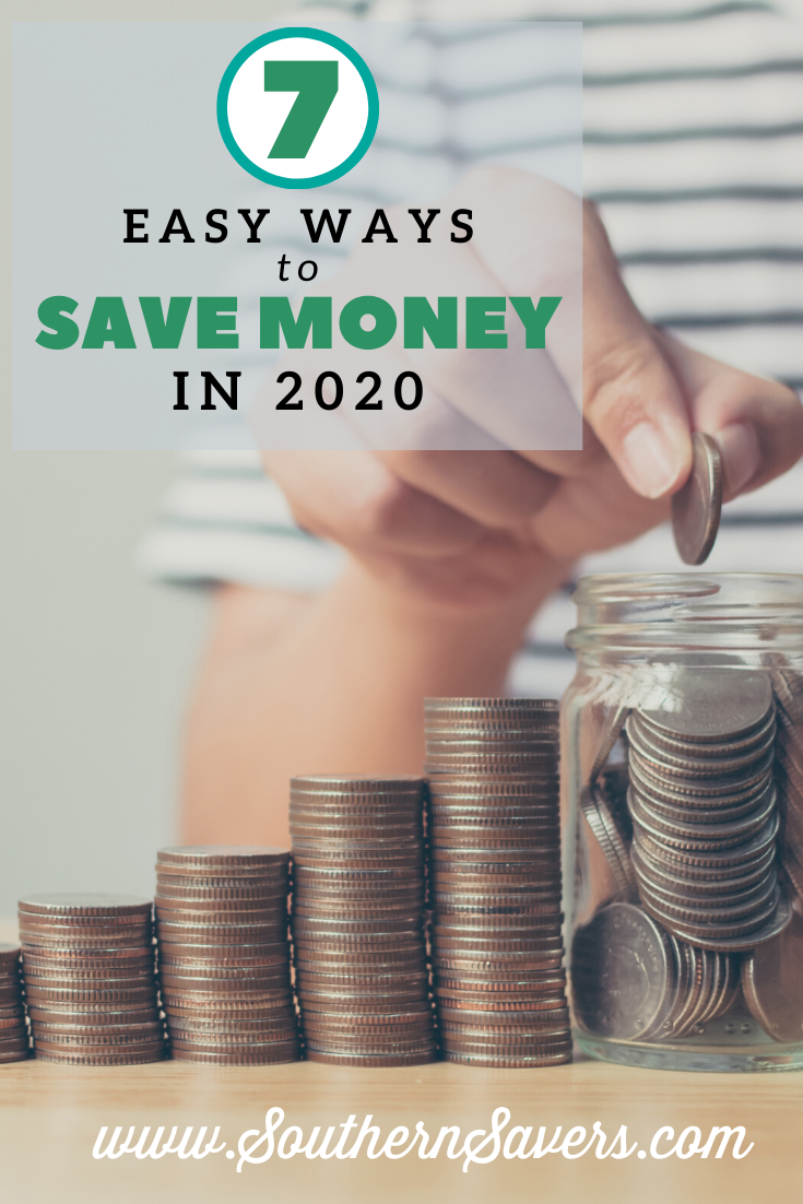 Looking to change your finances this year? Start new habits in the new year with these 7 easy ways to save money in 2020!