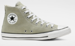 light green converse high-top chucks