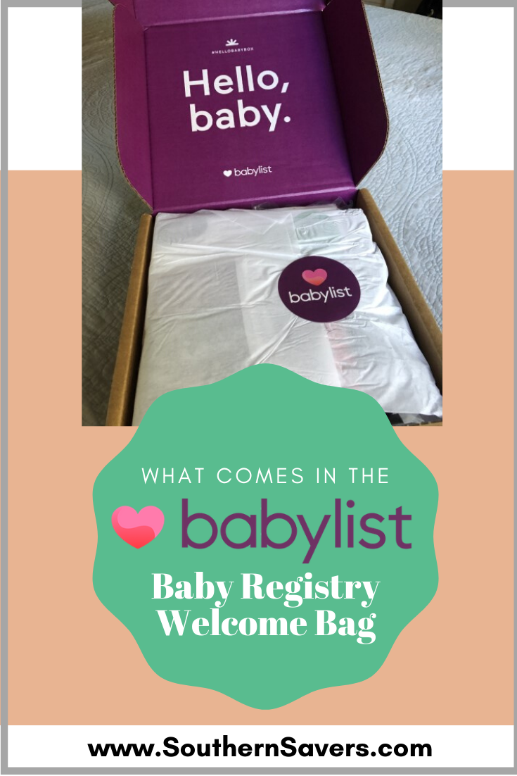 At Babylist, you can add items from anywhere online to make a registry. If you do a couple of things, you can get a free Babylist Baby Registry welcome box!