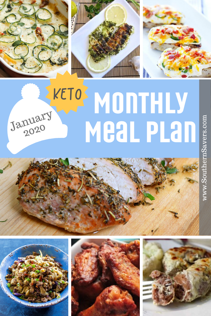 It's a new year, which for many people means new goals.If a keto lifestyle is your goal, then this keto monthly meal plan will be just the thing!