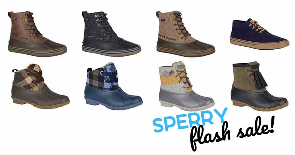 sperry flash sale